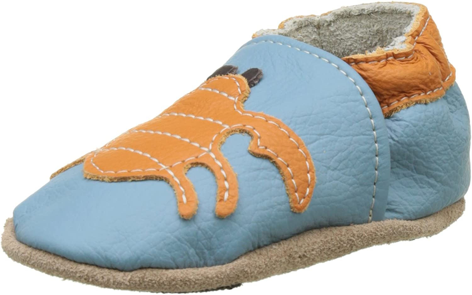 Hobea Germany First-Step Baby Shoes Size : 18//19, 6 to 12 Months, Smiley Design