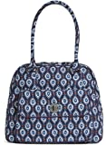 Vera Bradley Turnlock Satchel in Marrakesh Motifs