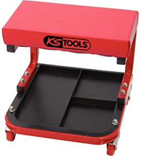 KS Tools 500.8020 Taburete de taller (tamaño: 440 x 360 x 360 mm)