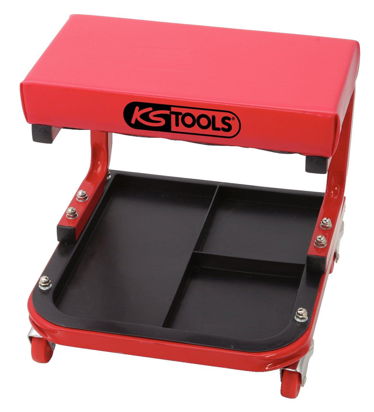 KS Tools 500.8020 Taburete de taller (tamaño: 440 x 360 x 360 mm), 440mm