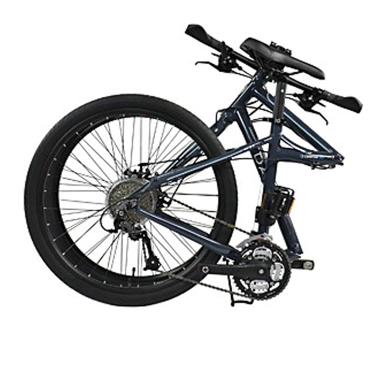 Dahon Faltrad Cadenza D27 27 Gang Grau 26 Zoll Klapp Fahrrad Faltrahmen Aluminium Dunkelgrau Alu, 942270: Amazon.es: Deportes y aire libre