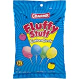 Charms Fluffy Stuff Cotton Candy, 2.5-Ounce Bags, Pack of 6 (Total 15 oz)