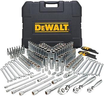 204-Piece DeWalt Mechanics Tool Set and Socket Set