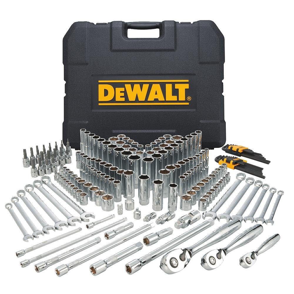 DEWALT Mechanics Tools Kit and Socket Set, 204-Piece (DWMT72165)