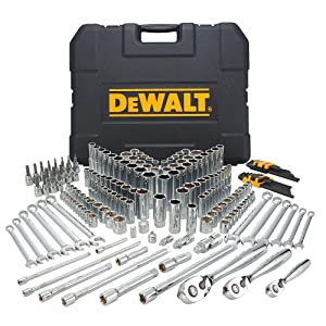 DEWALT Mechanics Tools Kit and Socket Set, 204-Piece (DWMT72165)