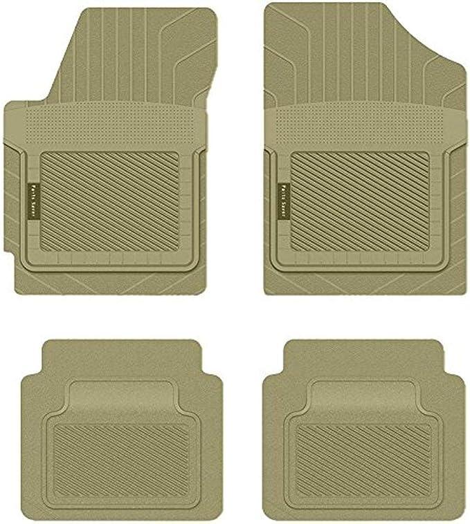 2912133 Tan PantsSaver Custom Fit Car Mat 4PC