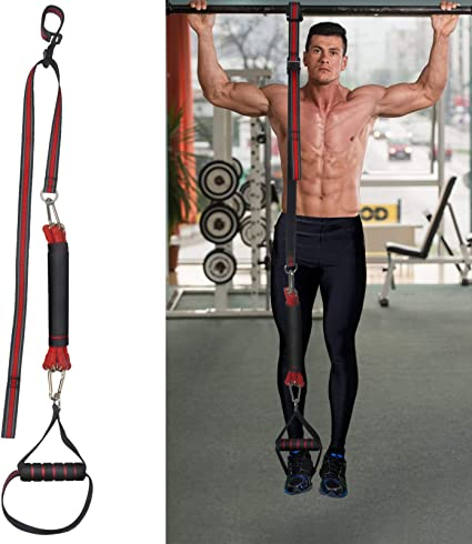 T For Men /& Women Crossfit Assistance Band for Exercise Chin Ups Powerlifting