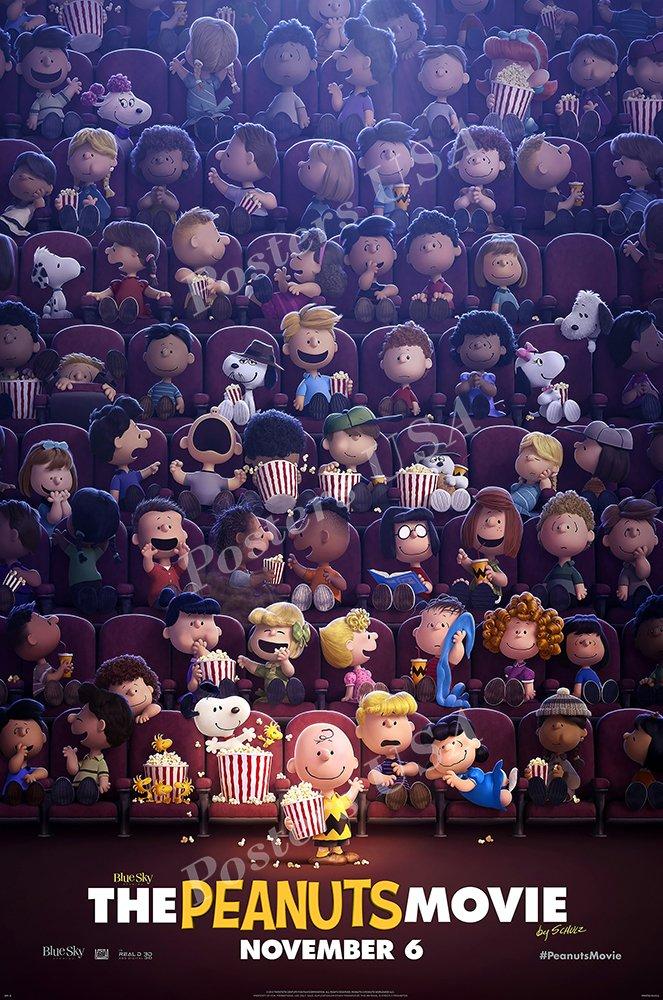 "Posters USA - The Peanut Movie Snoopy Movie Poster GLOSSY FINISH - MOV595 (24"" x 36"" (61cm x 91.5cm))"