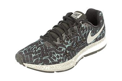 Womens Air Zoom Pegasus 33 Rostarr Running Trainers 859892 Sneakers Shoes (UK 4 us 6.5 EU 37.5 black reflective silver dark grey 001)