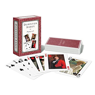 Downton Abbey Playing Cards Single Deck Rouge