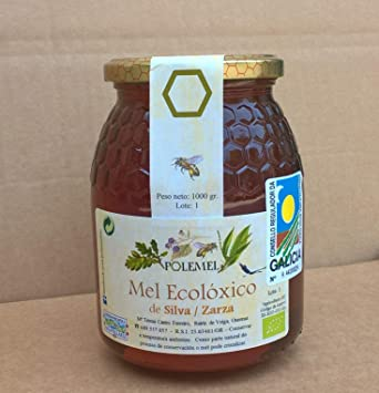 Pack Miel ecológica Polemel formato 1 kg (Castaño/Roble/Zarzamora): Amazon.es: Alimentación y bebidas