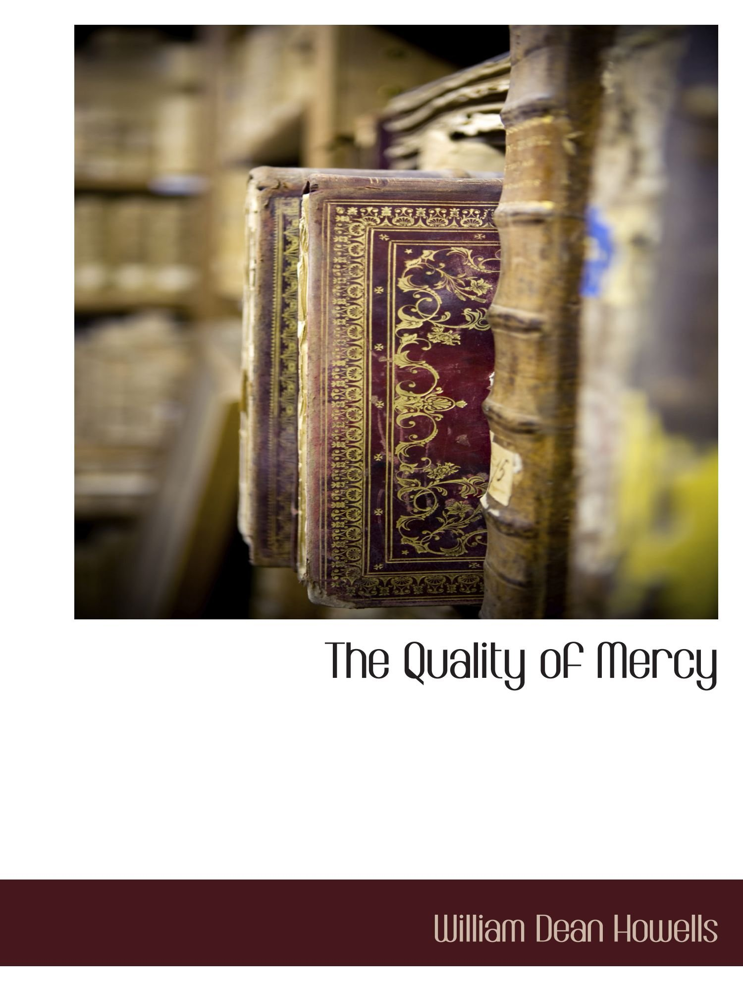 Download The Quality of Mercy pdf