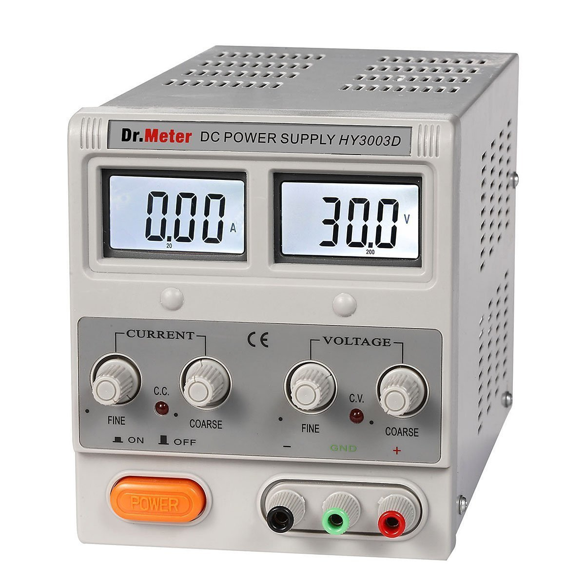 Drmeter Hy3003d 30v 3a Single Output Dc Power Supply Sound Level Meter Electronics Circuits For You With Banana To Alligator Cable Home Audio Theater