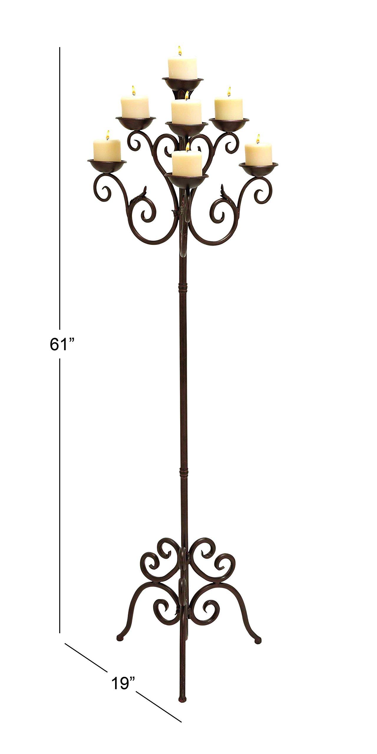 Deco 79 50237 Metal Candelabra, 19'' x 61'' by Deco 79