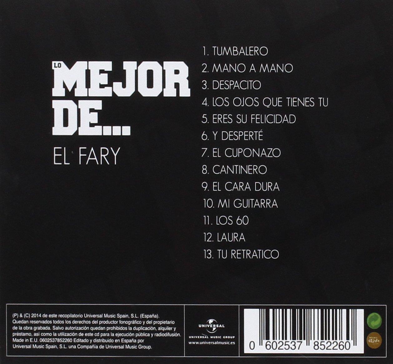 Lo Mejor De El Fary: El Fary: Amazon.es: Música