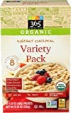 365 Everyday Value, Organic Instant Oatmeal Variety Pack, 1.41 oz, 8 ct