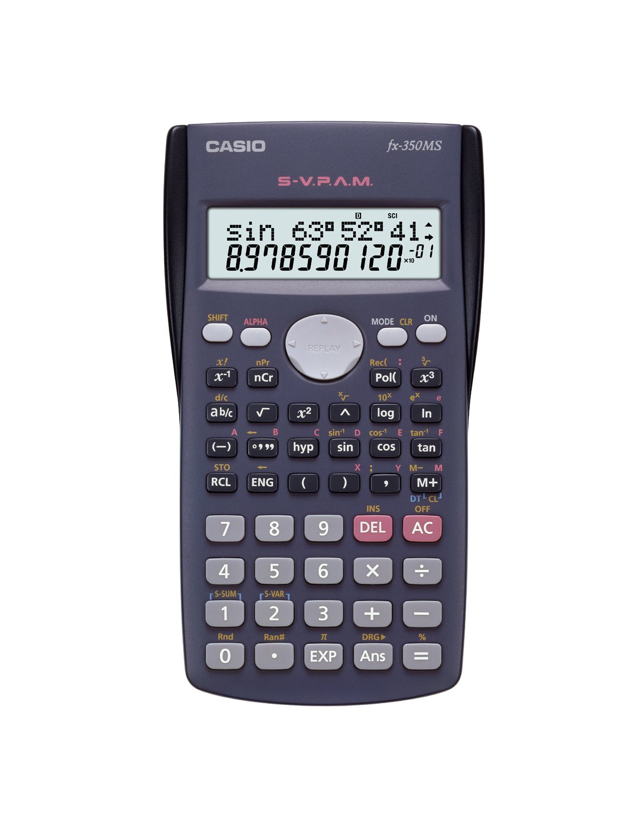 Casio Fx350 Fx-350ms Display Scientific Calculations Calculator with 240 Functions Limited Edition by Casio