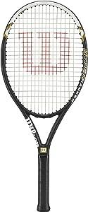 "Wilson Adult Recreational Tennis Racket - Size 4 1/8"", 4 1/4"