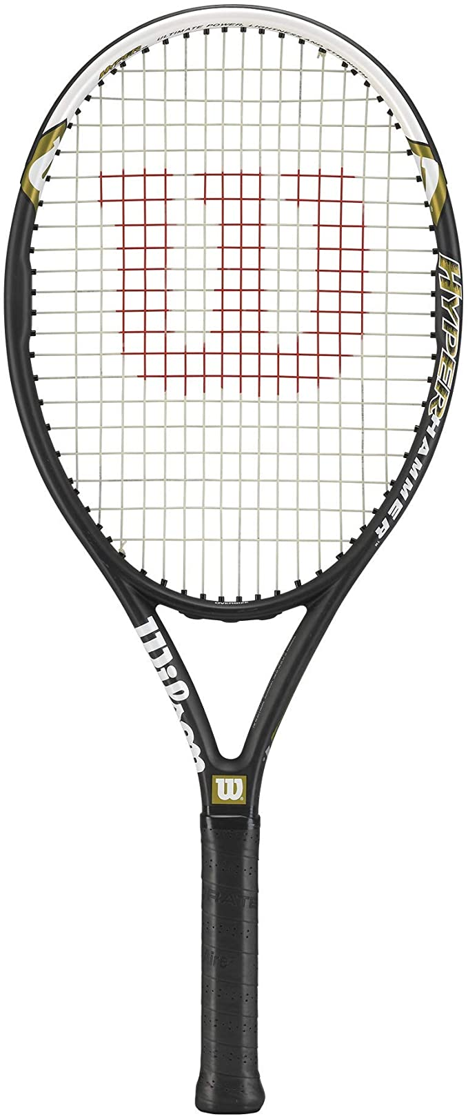 "Amazon.com : Wilson Adult Recreational Tennis Racket - Size 4 1/4"", 4 3/8"",  4 1/2"" : Sports & Outdoors"