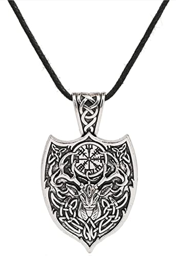 Amazon vassagodeer with irish knot vegvisirshield vassagodeer with irish knot vegvisirshield talisman trinity triquetra mozeypictures Image collections