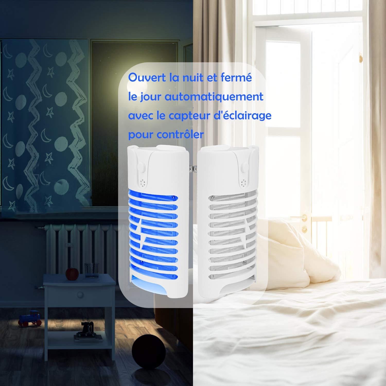 HK Elektrischer Insektenvernichter Lamp, UV Insektenvernichter, Moskito  Killer vor Elektrischem Schlag Tragbare Mückenfalle Für Innen Schlafzimmer