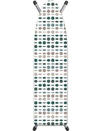 Superficie de Planchado Extra Grande Estable y Robusta,140x50 cm Hospaop Funda Plancha Ajustable Funda para tabla de Planchar Extra Suave con 100/% Algod/ón Funda Tabla de Planchar