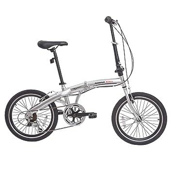 Murtisol Bicicleta Plegable híbrida de 20 Pulgadas con Marco ...