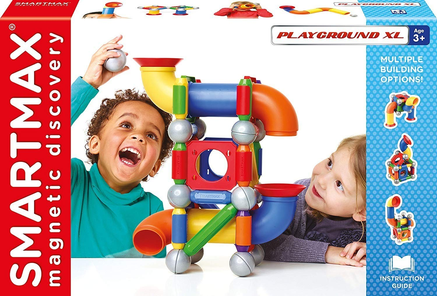 SmartMax ''Playground XL'', Magnetic Discovery, lets small builders show off large inventions