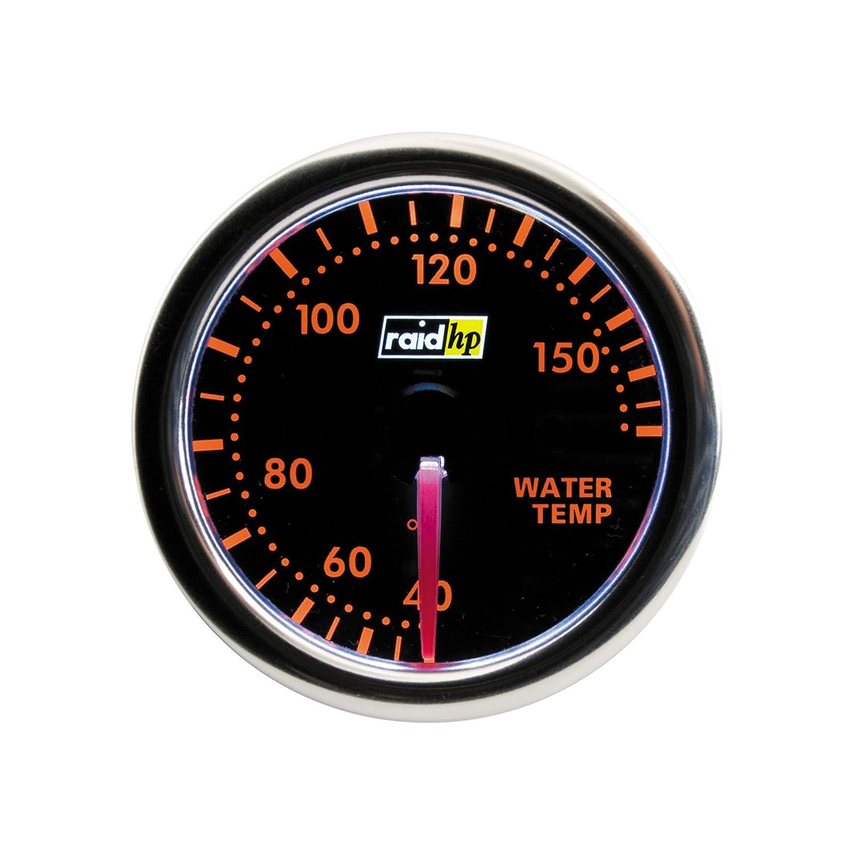 Raid HP 660253 Wassertemperaturanzeige, Zusatzinstrument Night Flight r.d.i. Deutschland Autoteile + Vertriebs GmbH