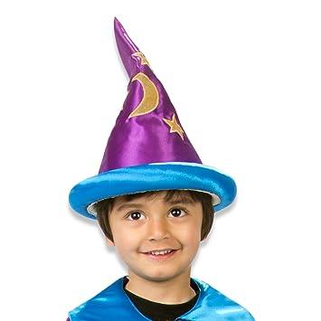 be80dc3bd6e59 Lucy Locket - Sombrero de mago para niño  Amazon.es  Juguetes y juegos