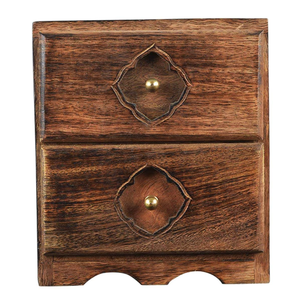 Storeindya Diwali Gifts Boxes Ideas Diwali Games Boxes Festive Décor Gifts for All decoration festival of lights Dipawali Diwali gifts Diwali puja Deepawali décorWooden Tea Box Chest Organizer Coffee Spices Holder 6 Compartments Kitchen Accessories Cases S