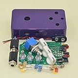 DIY(DS-2)Distortion pedal Flash violet metal Distortion Pedal TTONE