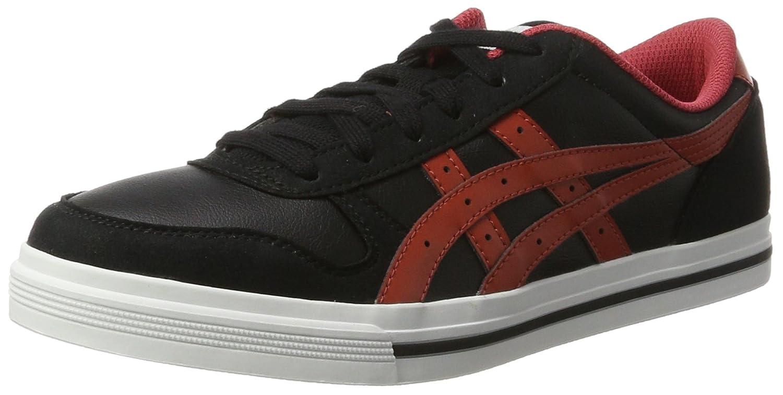 Asics Herren Aaron Sneaker, Grau  42 EU|Schwarz (Black/Tandori Spice)