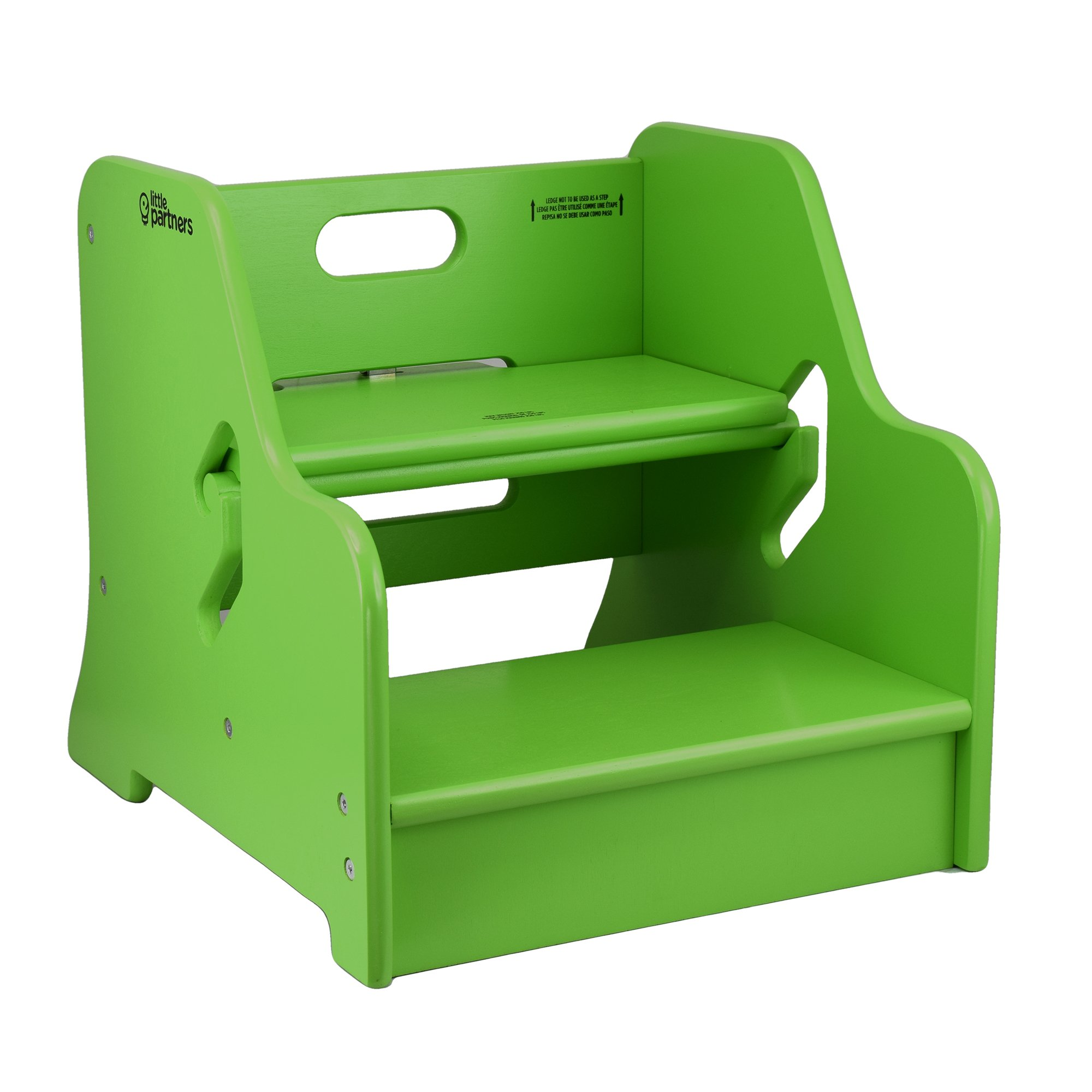 Miraculous Details About Little Partners Step Up Step Stool Apple Green Short Links Chair Design For Home Short Linksinfo