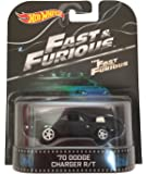 """70 Dodge Charger R/T """"Fast & Furious"""" Hot Wheels 2015 Retro Series 1/64 Die Cast Vehicle"""