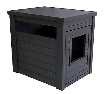 Amazon.com: ecoFlex Litter Loo, Litter Box Cover/End Table: Pet ...