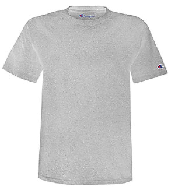 argent gris, LRG L Champion Heritage T4333 549318 T-Shirt à Manches Longues pour Homme Logo C avec Bouledogue