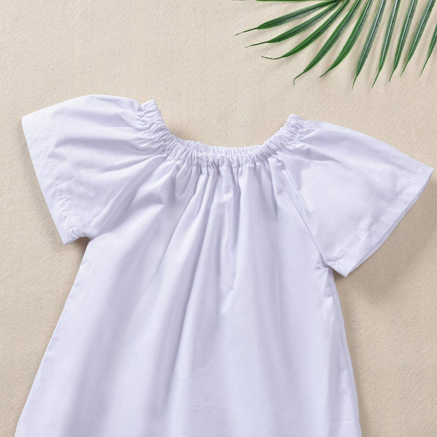 Headband Sets 18-24months Newborn Baby Girl Anchor Outfits Short Sleeve Tops 100 Short Pants White