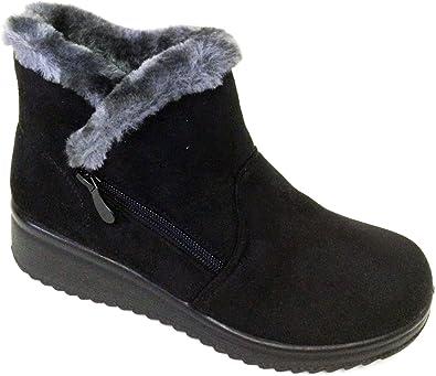 G4U-YGR G-XMM Women's Winter Boots Faux