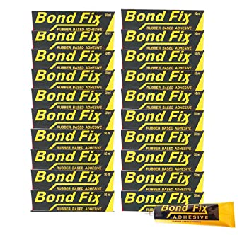 BONDFIX Synthetic Rubber Based Adhesive (Pack of 20) - 50ml