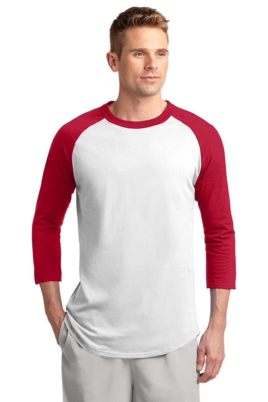Sport-Tek Men's Colorblock Raglan Jersey
