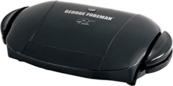 George Foreman GRP0004B 5-Serving Removable Plate Electric Indoor Grill