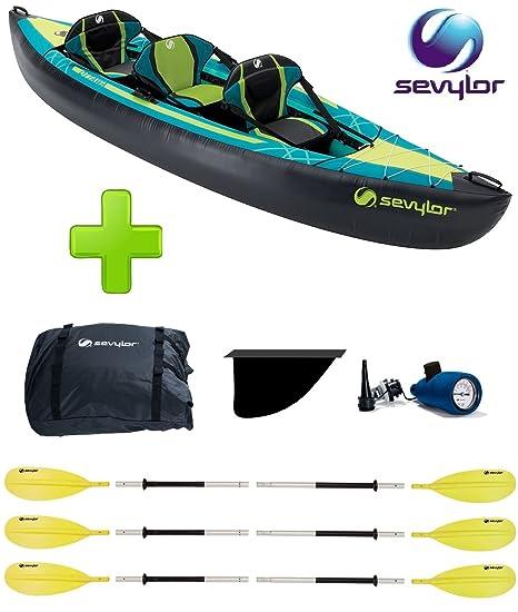 Canoa Kayak Modelo Ottawa marca Sevylor 2 + 1 plazas ...