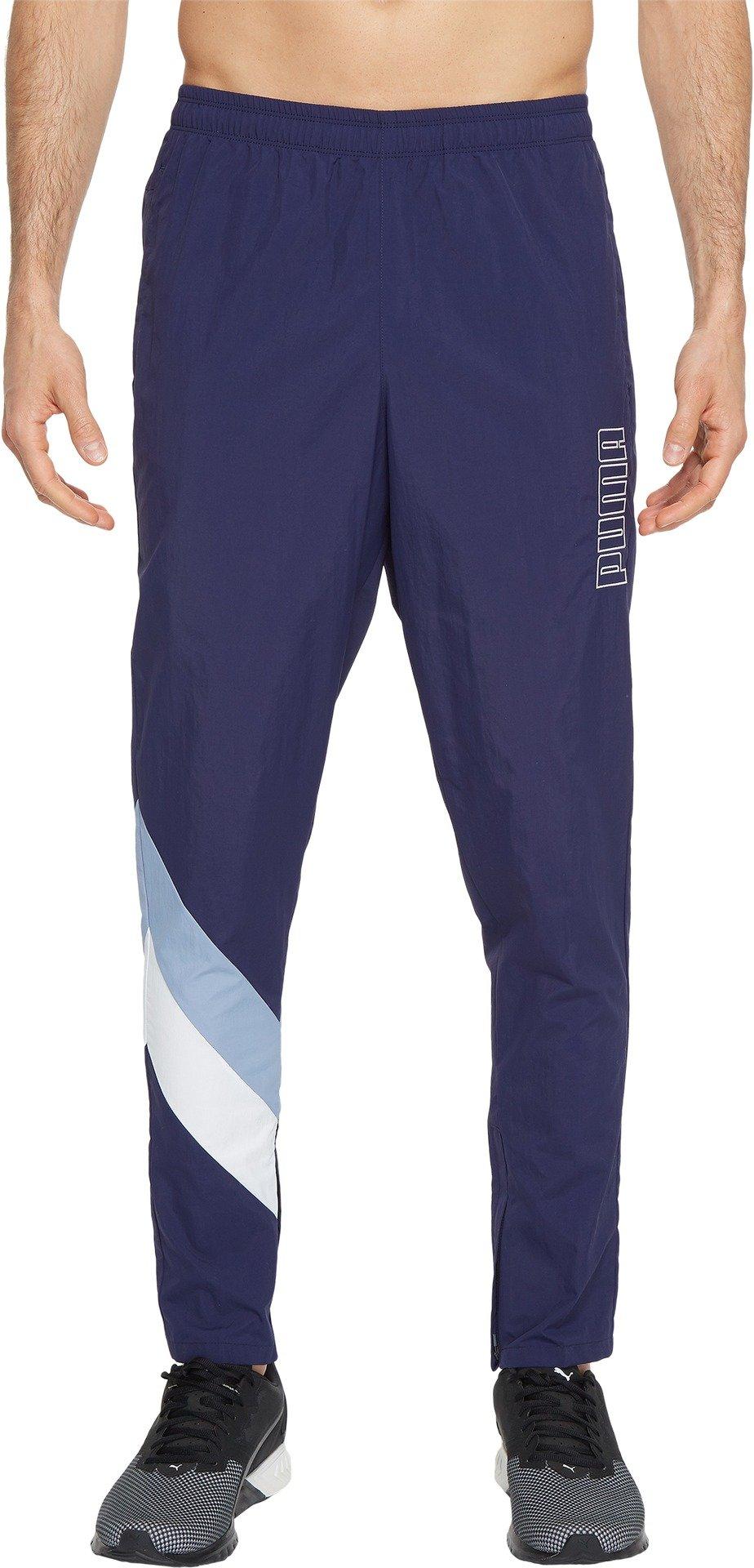 PUMA Men's Heritage Pants, Peacoat/Infinity, L