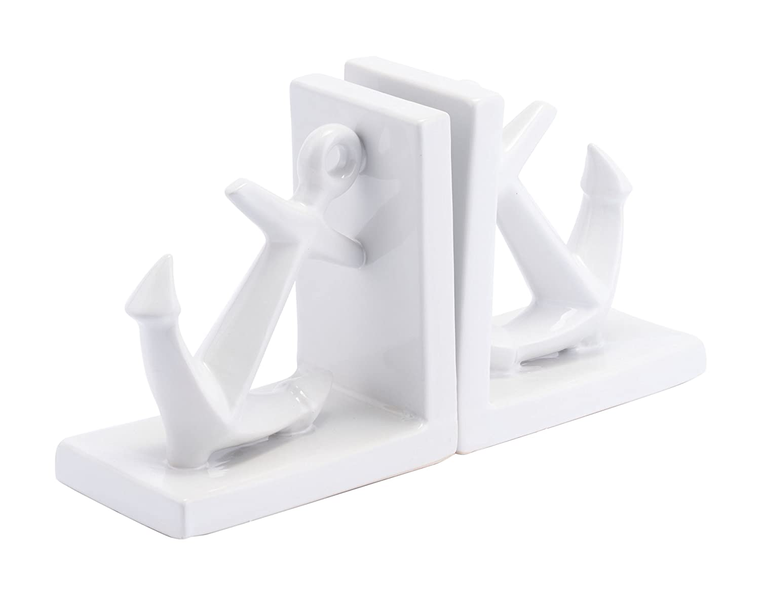 Zuo Anchors Bookends White