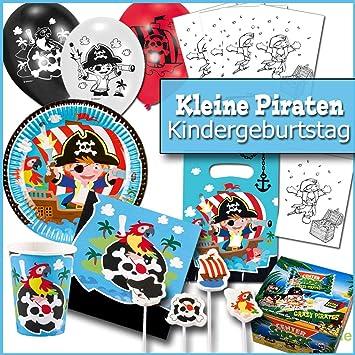 Party Dekoration Kindergeburtstag Pirat