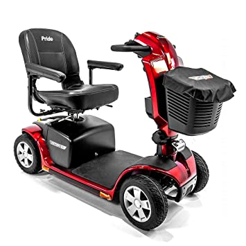 Amazon.com: Victory 10,2 Red Pride Movilidad 4-Wheel Scooter ...