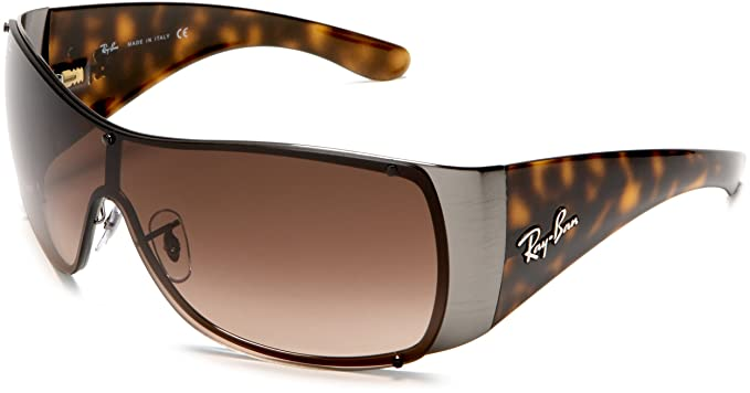 5445ab0d66 wholesale ray ban rb3361 gunmetal striped frame brown gradient lenses 36mm  non polarized a581f 55c5f