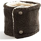 クイーンヘッド あったかボタン付きネックウォーマー 防寒対策 マフラー レディース 首巻き ネックウォーマー