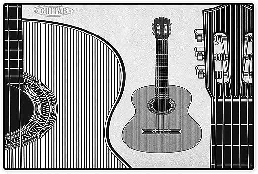 Alfombrilla para Puerta, diseño de Guitarra, diseño de Dibujo de ...